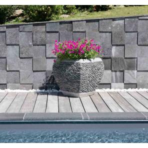 jardin clairage fontaine jardini re mur d 39 eau galet. Black Bedroom Furniture Sets. Home Design Ideas