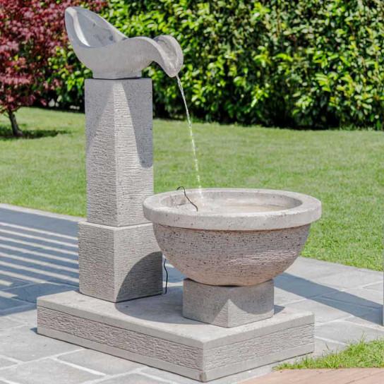 Fuente de jardín cascada 120 cm