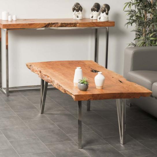 Table basse bois FARM 130