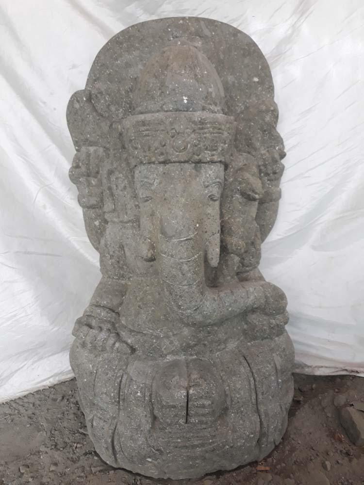 Estatua de jard n ganesh piedra 80 cm - Estatuas de jardin ...