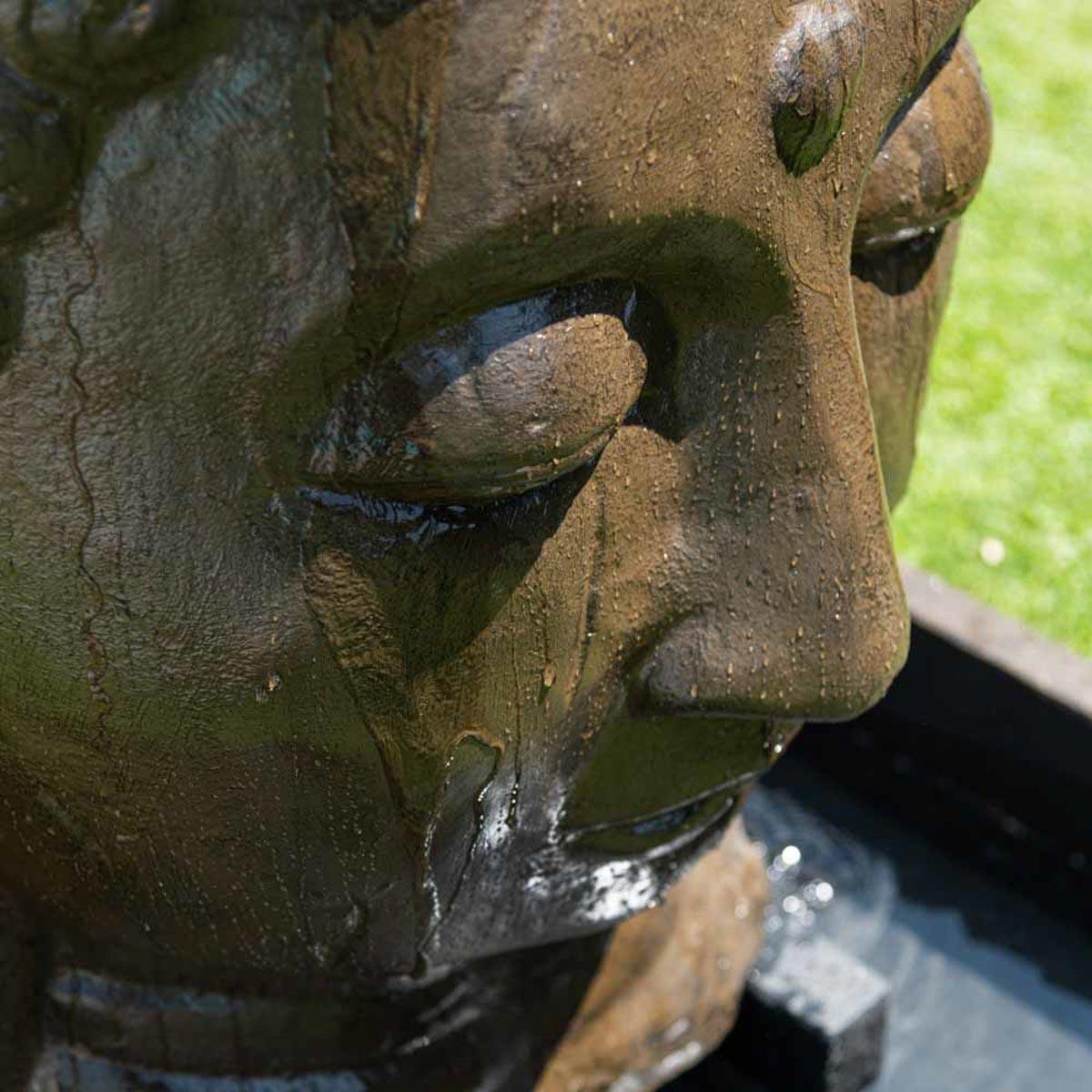 Fontaine De Jardin Fontaine Avec Bassin T Te De Bouddha