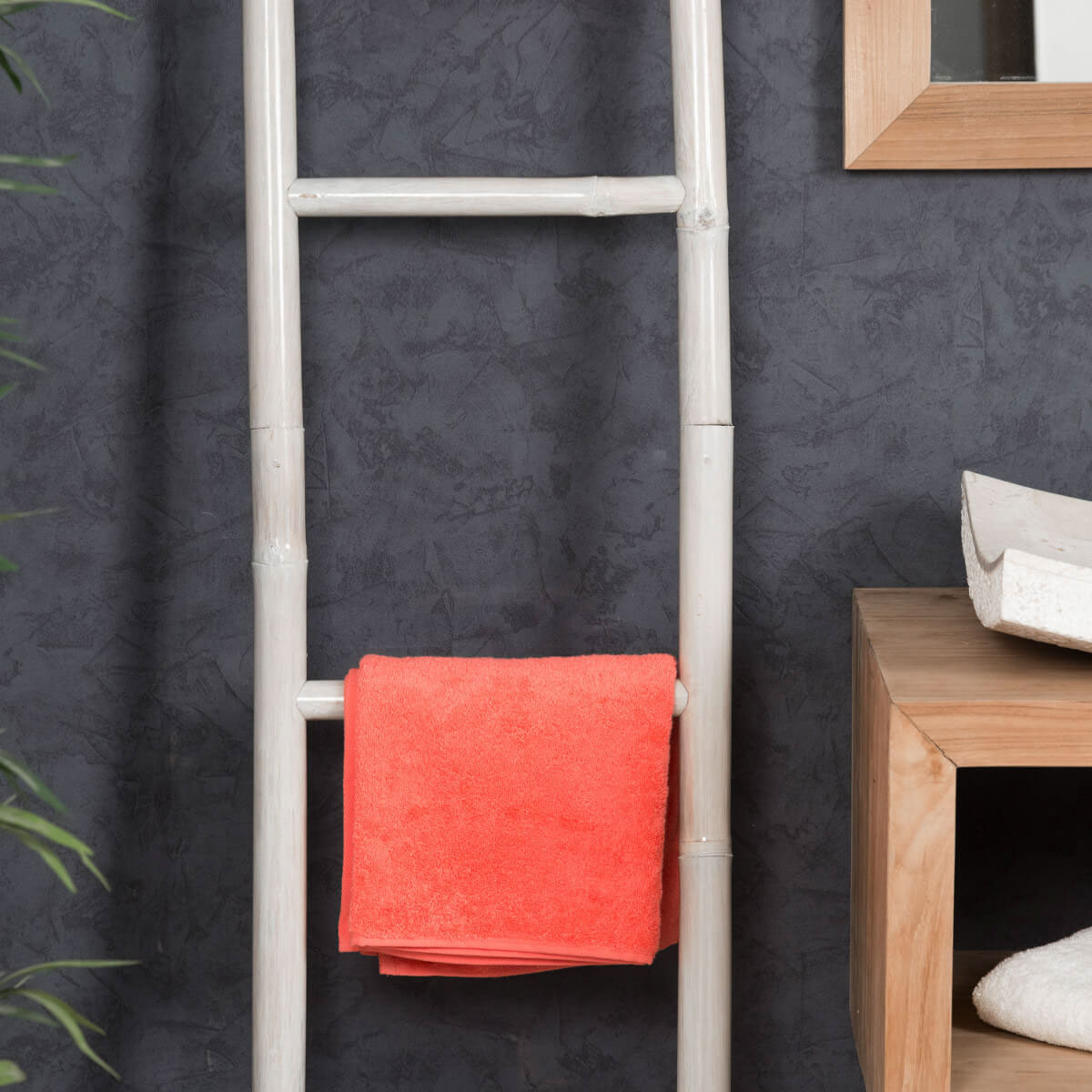 porte serviette chelle blanc. Black Bedroom Furniture Sets. Home Design Ideas