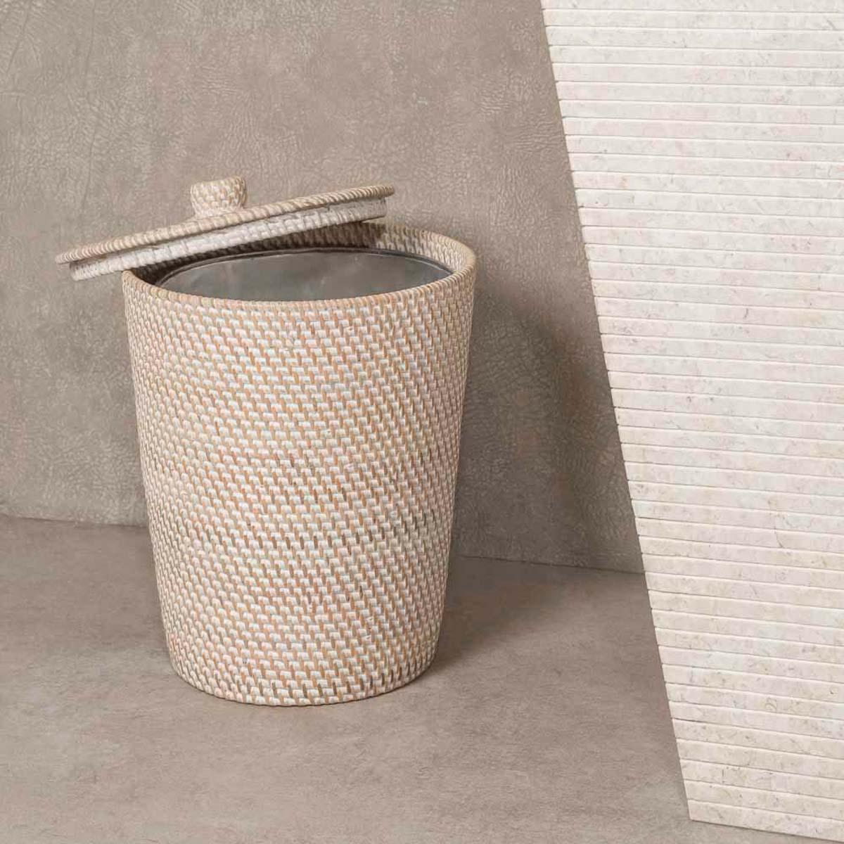 poubelle salle de bain osier gallery of set de paniers de rangement framboise panier de. Black Bedroom Furniture Sets. Home Design Ideas