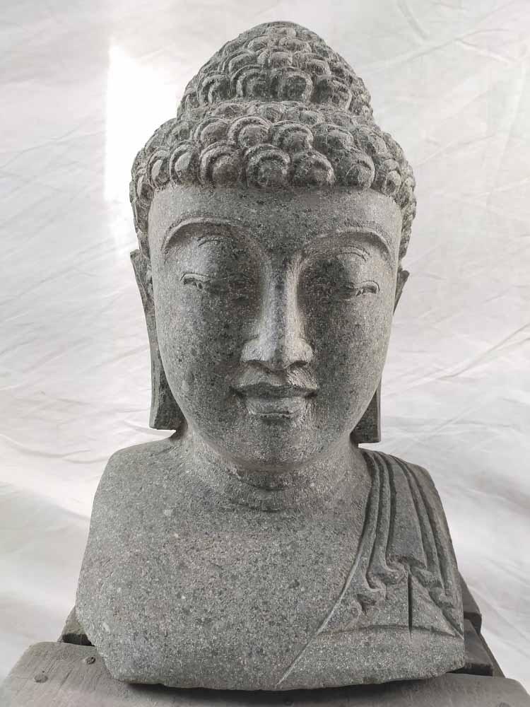 Statue Bouddha Statue De Jardin Exterieur Zen 40 Cm
