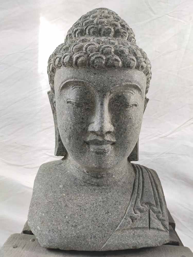 Statue bouddha statue de jardin exterieur zen 40 cm for Statue de jardin zen