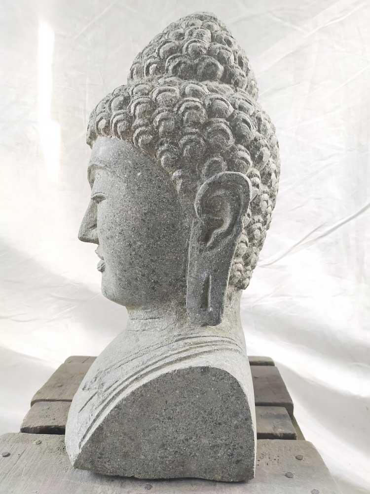 statue bouddha statue de jardin exterieur zen 40 cm. Black Bedroom Furniture Sets. Home Design Ideas