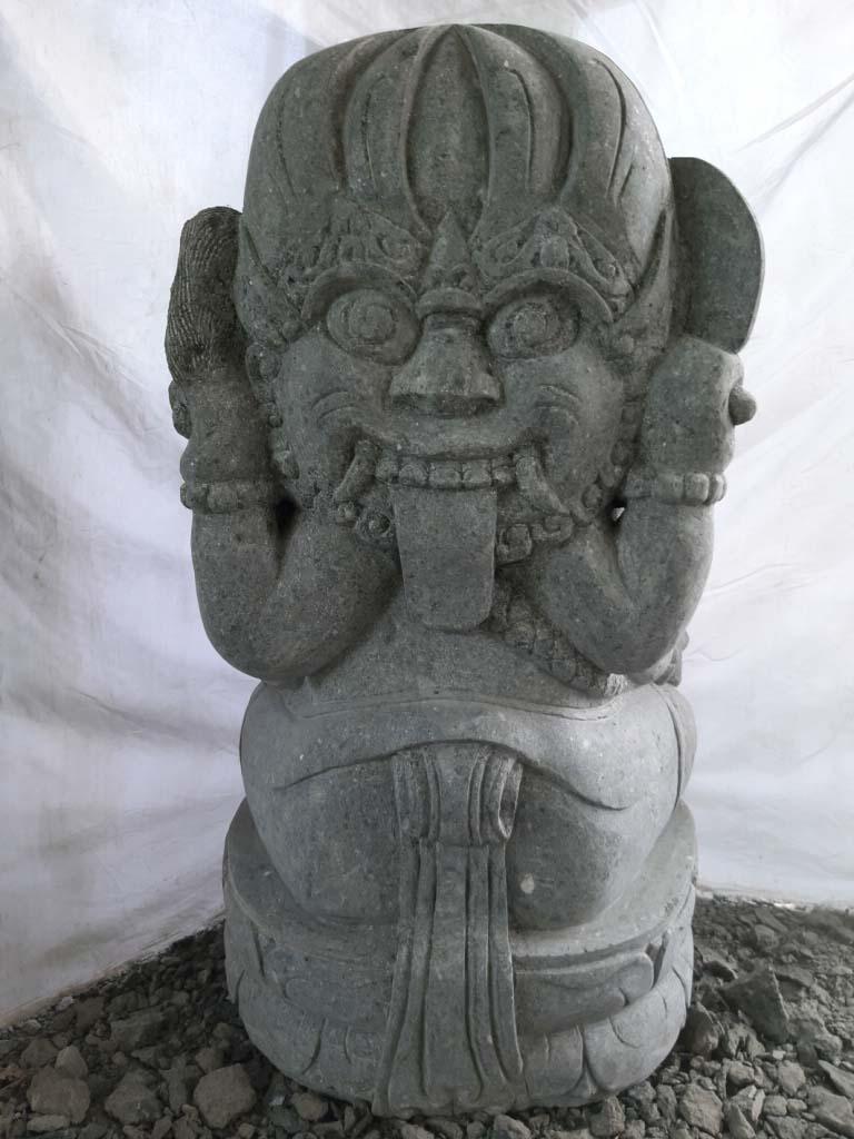 statue de jardin en pierre ganesh ext rieur 100 cm. Black Bedroom Furniture Sets. Home Design Ideas