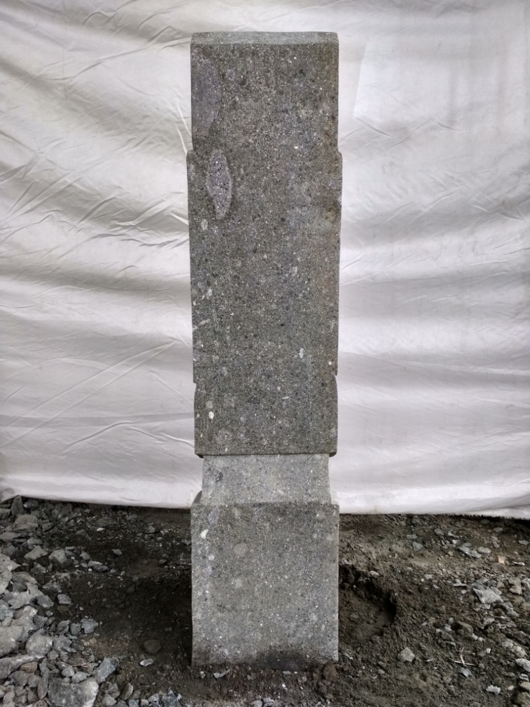 statue moa jardin zen roche volcanique 60 cm. Black Bedroom Furniture Sets. Home Design Ideas