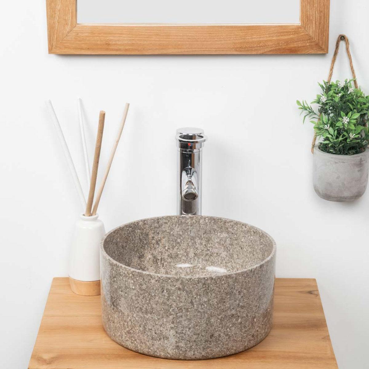 Les articles du site de wanda collection - Vasque salle de bain ronde ...
