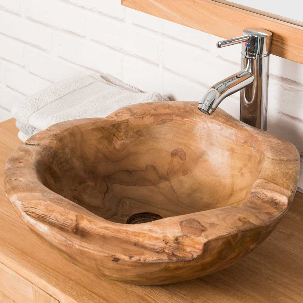 Vasque Vasque à Poser Racine De Teck 50cm