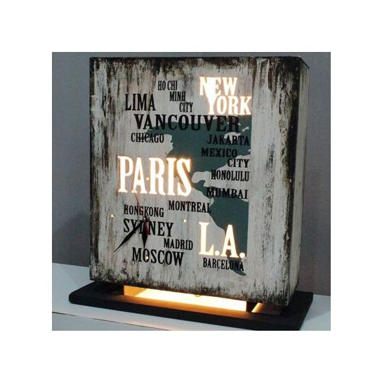 Lampe à poser monde industrielle et design